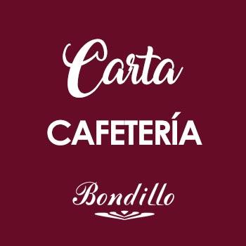 BONDILLO - Carta Cafetería