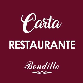 BONDILLO - Carta Restaurante